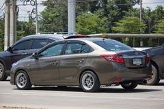 Carro privado Toyota Vios do sedan Imagens de Stock Royalty Free