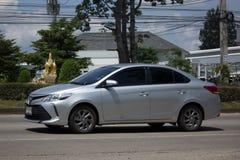 Carro privado Toyota Vios do sedan Foto de Stock Royalty Free