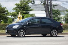 Carro privado Toyota Vios do sedan Fotos de Stock