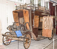 Carro - producción: Año de Checo -2006 Mediados del siglo XVIII Fotografía de archivo