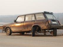 Carro quebrado Fotografia de Stock Royalty Free