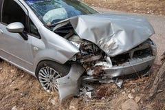 Carro quebrado Imagem de Stock Royalty Free