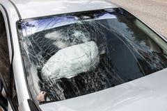 Carro quebrado Fotografia de Stock