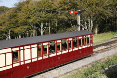 Carro railway velho Foto de Stock
