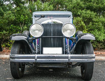 Carro restaurado do gângster do vintage Imagem de Stock