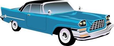 Carro retro Carros velhos Imagens de Stock Royalty Free