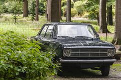 Carro retro de Opel desde 1971 fotos de stock