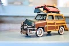 Carro retro do brinquedo Fotografia de Stock