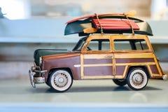 Carro retro do brinquedo Foto de Stock Royalty Free
