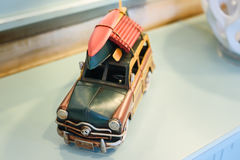 Carro retro do brinquedo Imagem de Stock