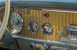 Carro retro do painel Foto de Stock Royalty Free