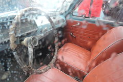 Carro retro do russo Fotografia de Stock