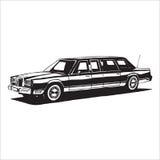 Carro retro do vintage Imagens de Stock