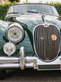 Carro retro do vintage de Jaguar Fotografia de Stock