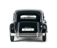 Carro retro do vintage preto Fotos de Stock