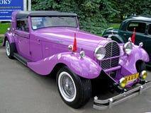 Carro retro original Foto de Stock Royalty Free
