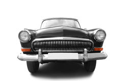 Carro retro preto Foto de Stock Royalty Free
