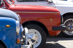 Carro retro soviético Imagens de Stock