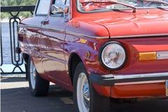 Carro retro soviético Foto de Stock