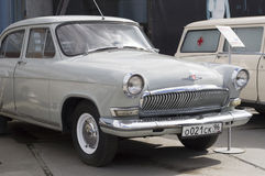 Carro retro soviético GAZ Imagens de Stock