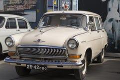 Carro retro soviético GAZ Volga Foto de Stock