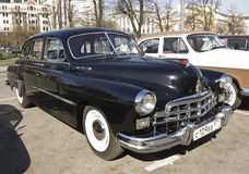 Carro retro Volga Fotos de Stock