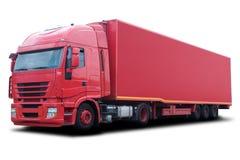 Carro rojo Imagen de archivo