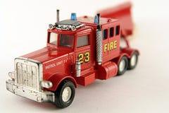 Carro rojo del cargo del equipo de rescate del asunto Foto de archivo libre de regalías