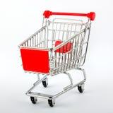 Carro rojo del departamento Imagen de archivo