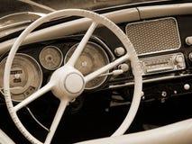 Carro romântico do vintage imagem de stock royalty free