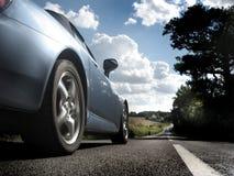 Carro rápido Fotografia de Stock Royalty Free