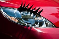 Carro 'sexy' da mulher Foto de Stock