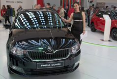 Carro Skoda FABIA COMBI Foto de Stock