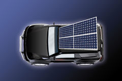 Carro solar Foto de Stock Royalty Free