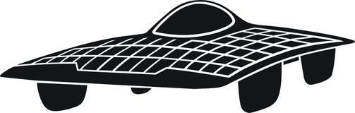Carro solar, veículo solar Foto de Stock Royalty Free