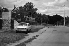 Carro soviético imagem de stock