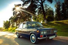 Carro soviético velho Imagem de Stock Royalty Free
