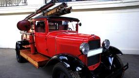 Carro soviético velho Fotos de Stock Royalty Free