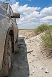 Carro sujo Imagem de Stock