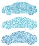 Carro Textured Imagens de Stock Royalty Free