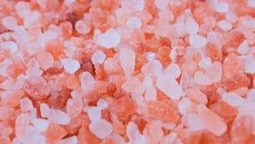 Carro-tiro cristalino rosado Himalayan de la sal metrajes