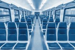 Carro vacío del pasajero Imagen de archivo libre de regalías