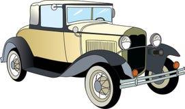 Carro velho ilustração do vetor