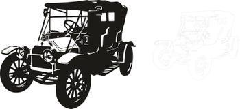Carro velho Fotos de Stock Royalty Free