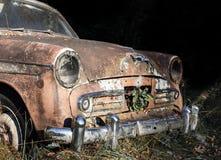 Carro velho abandonado Fotografia de Stock Royalty Free