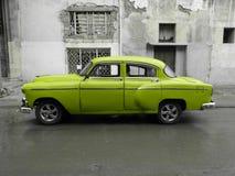 Carro velho americano em Cuba Imagem de Stock