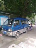 Carro velho China nove anos de versão fotos de stock