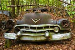 Carro velho da sucata imagem de stock royalty free