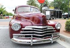 Carro velho de Chevrolet fotografia de stock