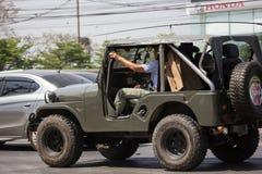 Carro velho de Jeep Private imagem de stock royalty free